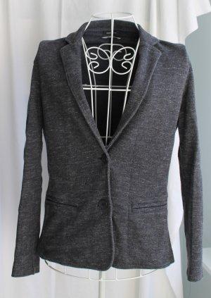 Marc O'Polo Sweat Blazer dark grey-anthracite cotton