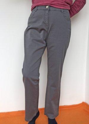 Basler Pantalon cinq poches gris clair coton