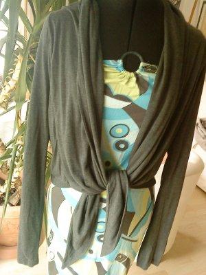 dunkelgraue dünne Sommer-Shirt-Jacke von Vero moda L