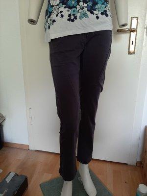 dunkelgraue Hose Größe 38 aus Baumwolle