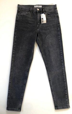 Topshop Skinny jeans antraciet