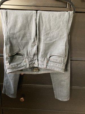 Genetic denim Jeans skinny grigio scuro