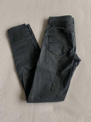 Dunkelgraue Jeans mit Knöpfen von Ann Christine