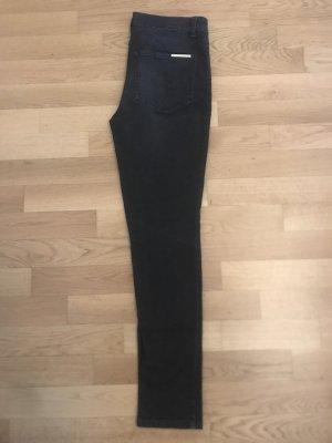 By Marlene Birger Jeansy z prostymi nogawkami ciemnoszary