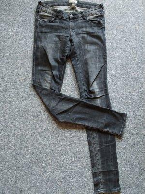 dunkelgraue Jeans von NOW - Slim - Größe 29 - Damen