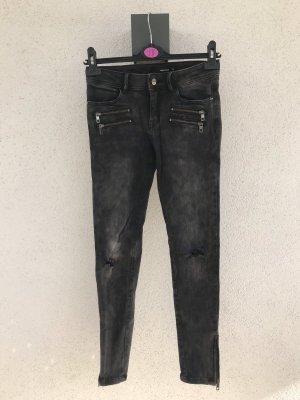 Dunkelgraue Jeans von Tally Weijl