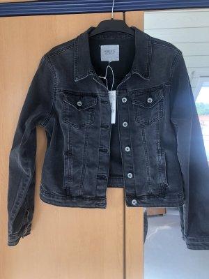 dunkelgraue Jeansjacke von Haily's