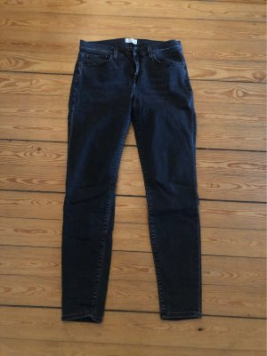Dunkelgraue Skinny Jeans von Selected w31 l32