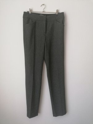 dunkelgraue Stoff-Anzughose