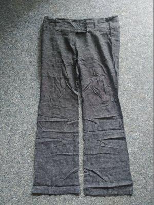 dunkelgraue Stoffhose von Clockhouse - Größe 42