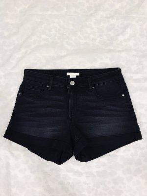 Dunkelgraue Stretch Shorts