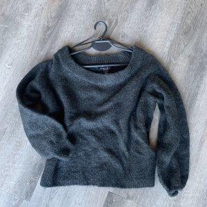 dunkelgrauer Pullover in XS
