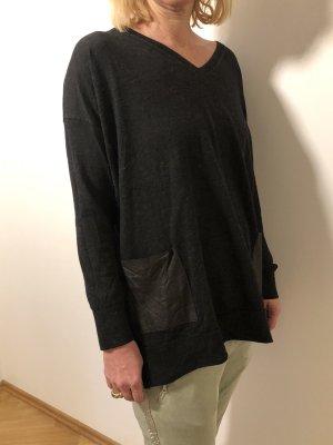 Dunkelgrauer Pullover Michael Kors M