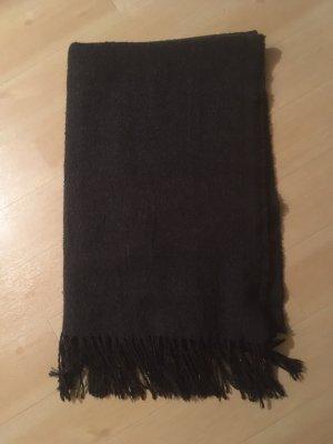 Dunkelgrauer Schal von Pieces