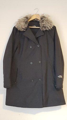 North Face Cappotto in eco pelliccia grigio-grigio scuro
