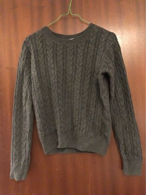 H&M Cable Sweater anthracite