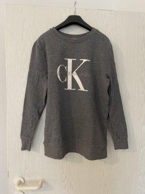 Dunkelgraues Calvin Klein Jeans Sweatshirt
