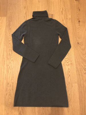 Allude Sweater Dress anthracite