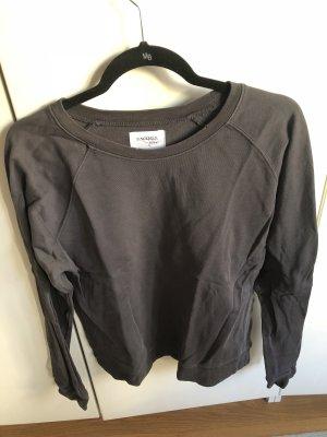 Dunkelgraues Sweatshirt von Sincerely Jules