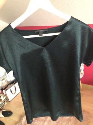 Dunkelgraues T-Shirt von Esprit XS