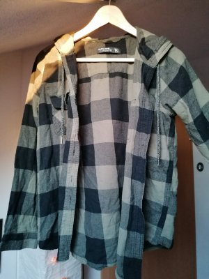 Blind Date Flannel Shirt black-green grey