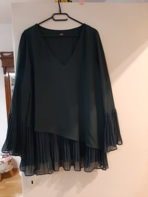 Wallis Ruffled Blouse dark green