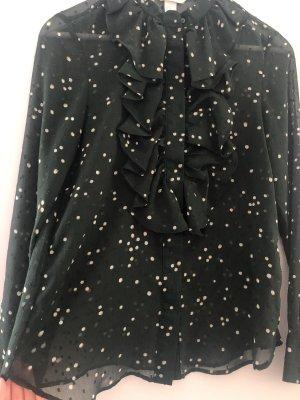 Dunkelgrüne Bluse von H&M