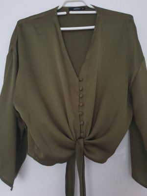 addax Blouse Top green grey