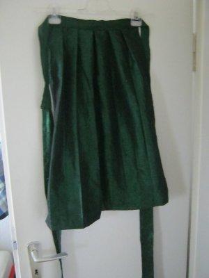 Traditional Apron dark green