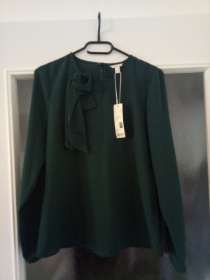 Dunkelgrüne Esprit-Bluse neu mit Etikett