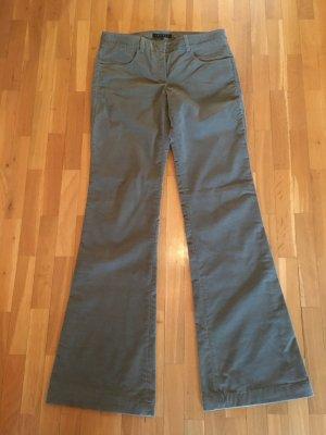 Theory Pantalone Marlene grigio-verde Cotone