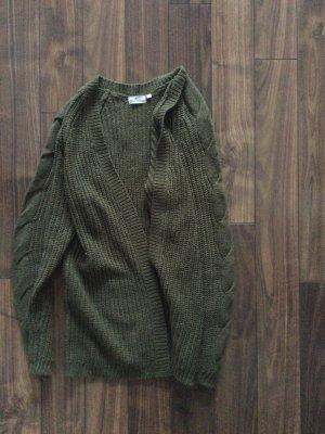 Blue Motion Gilet tricoté vert foncé