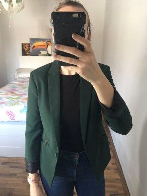 dunkelgrüner Blazer von Forever 21