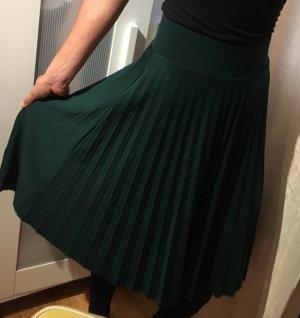 Anna Field Plisowana spódnica ciemnozielony-petrol