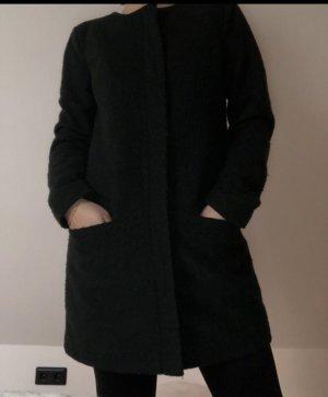 Dunkelgrüner Mantel von Only