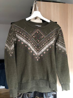 Clockhouse Long Sweater green grey