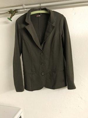 Dunkelgrünes Jacket