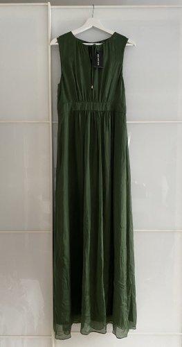 Dunkelgrünes Maxi Sommerkleid