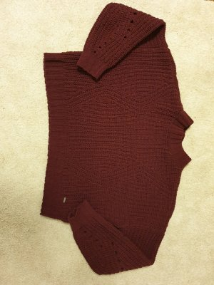 Hollister Coarse Knitted Sweater multicolored