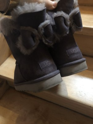 UGG Snow Boots brown violet