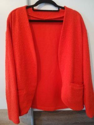 H&M Blazer sweat orange foncé