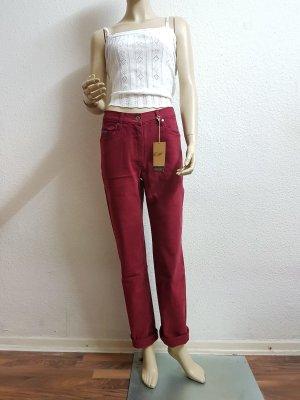 Arizona Pantalon cigarette rouge foncé