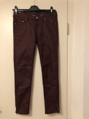 Dunkelrote Jeans von H&M