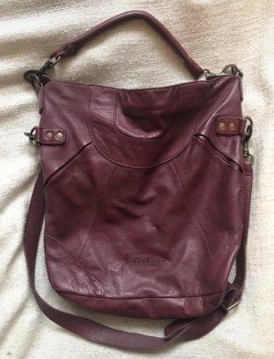 Dunkelrote Liebeskind Handtasche