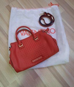 dunkelrote valentino Tasche neuwertig