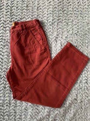 Dunkelrote Vintage Hose von Toni