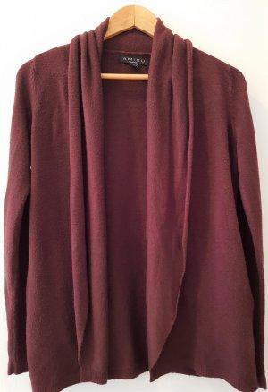 Amisu Veste en tricot rouge foncé-rouge carmin