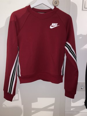Dunkelroter Nike Pullover