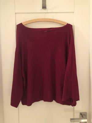 Dunkelroter Pullover von Comma