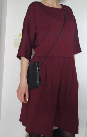 Handmade Midi Dress bordeaux